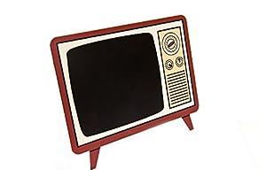 tafel aufsteller fernseher im retro look zum. Black Bedroom Furniture Sets. Home Design Ideas