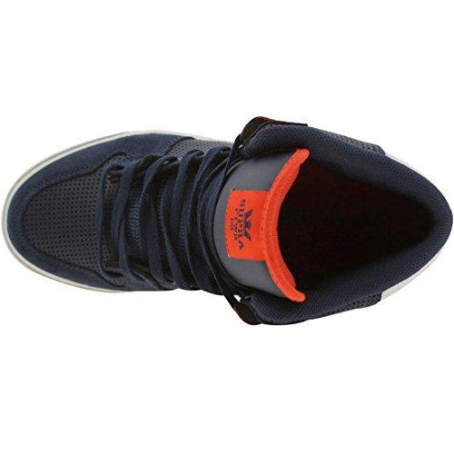 SUPRA Men's The Vaider Sneaker 10.5M / 12.5W Navy