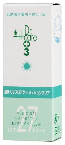 岩井商事 アシュケア 薬用UVプロテクト ミッションクリア40ML SPF27 PA