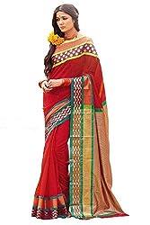 Lemoda Cotton Printed Handwooven Saree For Women MMUKE24177638060-70000032