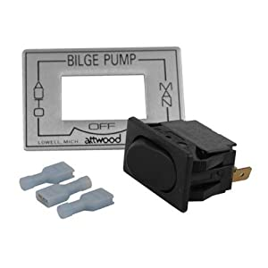 Buy Attwood 3 - Way Bilge Pump Switch by attwood