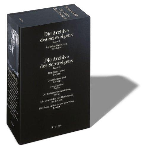Die Archive des Schweigens: 2 Bde.