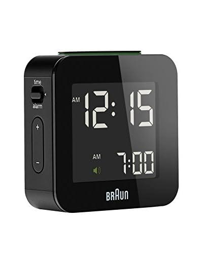 Braun Reloj despertador BNC008BKBK Negro