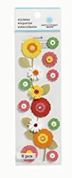 Martha Stewart Crafts Flower Garland Stickers