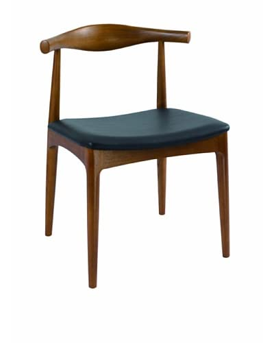 Control Brand Danish-Inspired Side Dining Chair, Brown
