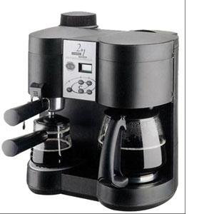 Amazon.com: Kitchen Collection Dual Espresso-Programmable Coffee Maker: Drip Coffeemakers ...