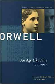 orwell essays kindle