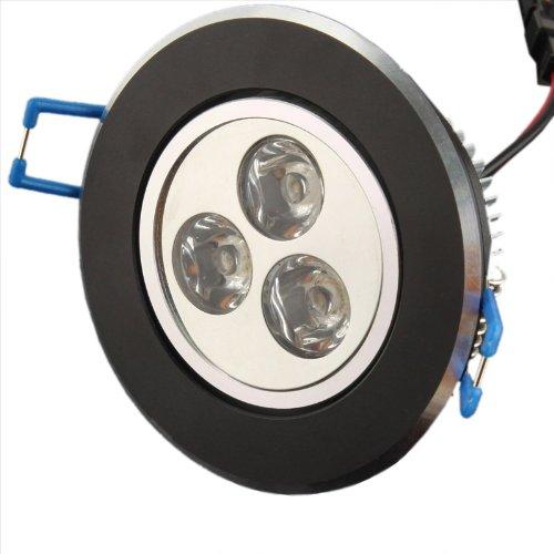 Generic 3W White Aluminum LED Ceiling Lights