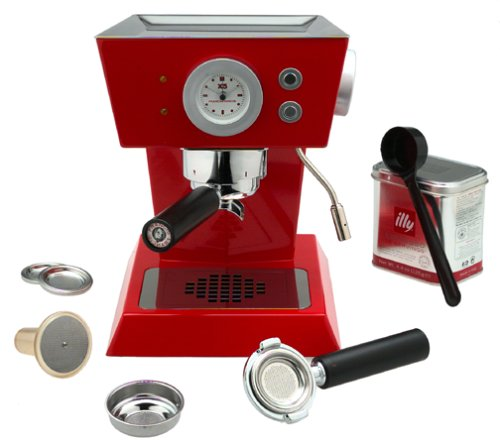 FrancisFrancis! X5 Espresso Machine, Red