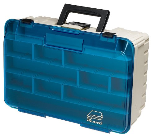 Plano two level magnum 3500 tackle box outdoor stuffs for Plano fishing tackle boxes