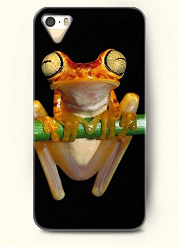 Oofit Phone Case Design With Frog With Big Eyes For Apple Iphone 4 4S 4G front-1010403