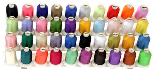 40 Large Spools DISNEY COLORS Embroidery Machine Thread