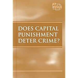 capital punishment a crime deterrent