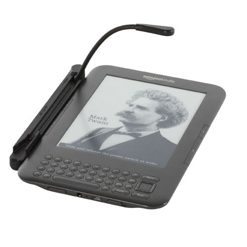 "SimpleLight for Kindle, Attaches to Kindle Keyboard (6"" Screen), NO Batteries Needed"