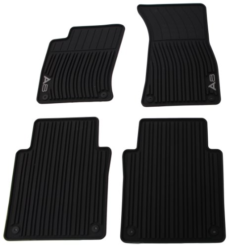 Grey Koolatron Pants Saver Custom Fit 4 Piece All Weather Car Mat for Select Nissan Versa Models