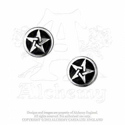 Alchemy Gothic (Metal-Wear) Pentanoir Coppia di Orecchini