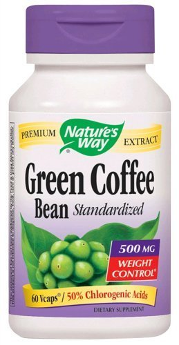 Natures Way Green Coffee Bean 500 Mg Veggie Caps - 60 Ea