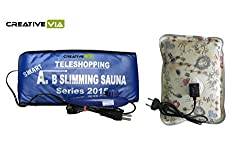 CreativeVia Smart Teleshopping A.B Slimming Fat Loss Sauna With Heating Pad Slimming Belt
