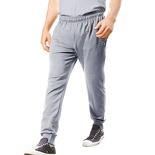 Champion Menâ€s French Terry Jogger Pants_Light Steel_2XL