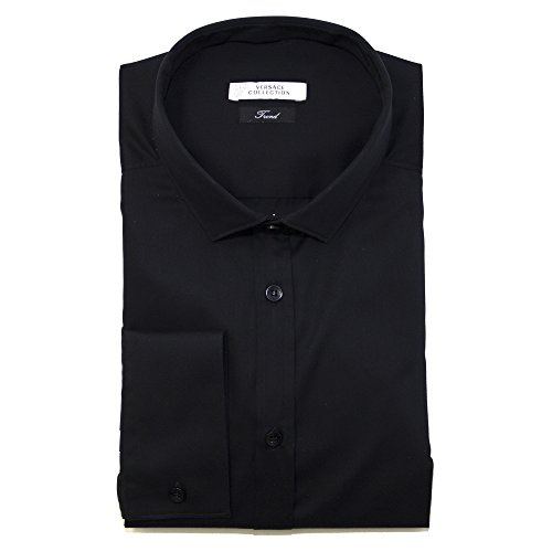 Versace COLLECTION Camicia Versace da uomo nero 43