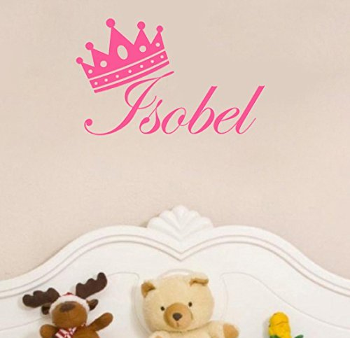 personalised-princess-crown-and-name-vinyl-wall-art-sticker-pink-home-deco-decal-girls-bedroom-by-tr