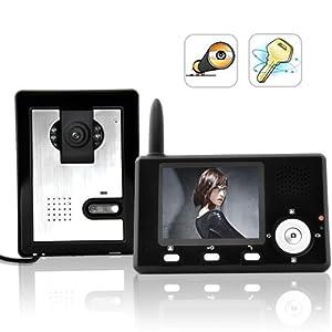 Entry Guardian - Wireless Video Door Phone (CMOS Sensor) Camera Security System