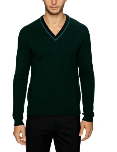 Pringle MF637 Men's Jumper Dark Bottle Green Large