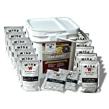 Emergency Survival Food Supply Essential Survival Kit Wise 56 Meal One Month Freeze Dried Food Supply