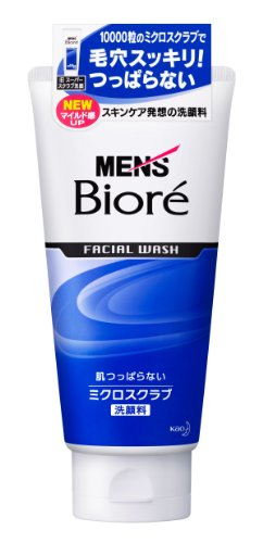 Men's Biore Facial Wash Micro Scrub