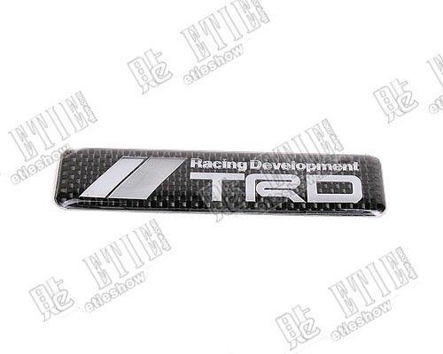 toyota tacoma online  trd emblem badge toyota carbon fiber