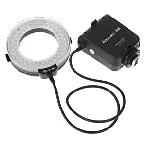 Aputure Amaran Halo LED Ring Flash Speedlite AHL-C60 for Canon