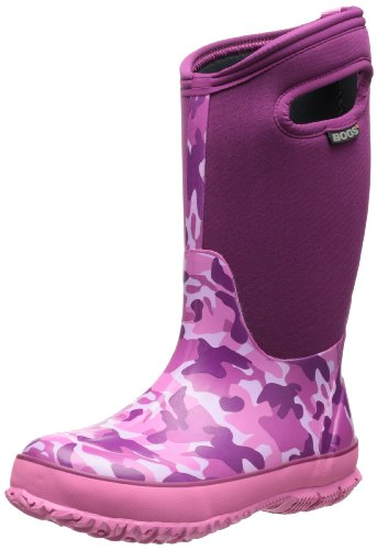 Toddler Bogs 'Classic High' Waterproof Boot, Size 11 M - Pin