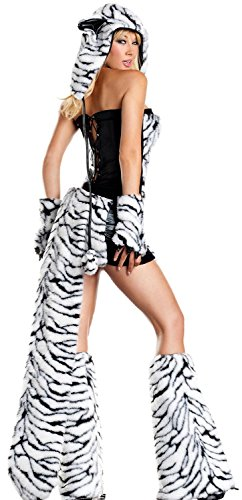 [Anmengte Halloween Masquerade Party Cosplay Costume Cute Animals (L, LC8717)] (Color Guard Costumes Rental)
