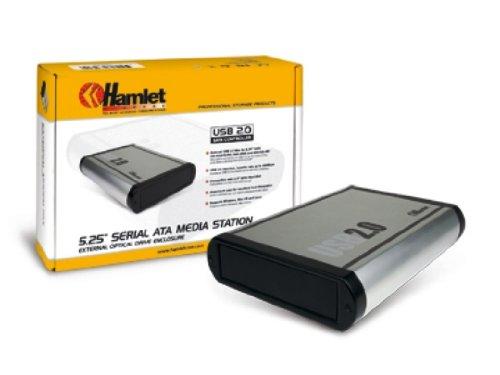 Hamlet hxd5u2sa box 5 25 sata usb 2 0 case e serrature for 2 5 box auto