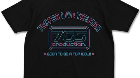 アイドルマスターミリオンライブ! 765ライブシアターTシャツ ブラック サイズ:M