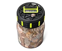 Discovery Kids Coin Counting Digital Money Jar