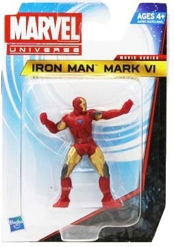 Marvel Universe Iron Man VI 2.5 Action Figure Movie Series - 1