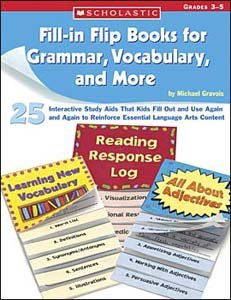 Fill-in Flip Books for Grammar, Vocabulary, and More - 1