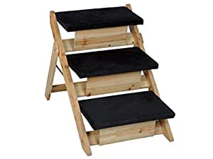 Amazon 1 Set Topnotch Popular 2in1 Pet Stairs Ramp