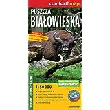 Puszcza Bialowieska. Mapa turystyczna 1:50 000 (Polska wersja jezykowa)
