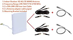 3G 4G LTE Indoor Outdoor wide band MIMO Antenna for Sierra Wireless AirCard 802s 803s Mobile Hotspot Sprint Overdrive 3G/4G 802S Sprint 4G LTE Tri-Fi Hotspot 803s