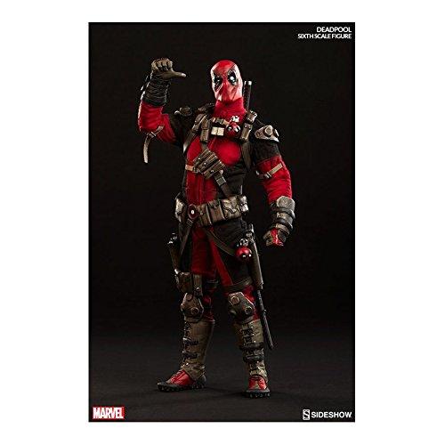 Sideshow Collectibles Exclusive Deadpool 1/6 Scale Figure with Bonus Zombie Headpool