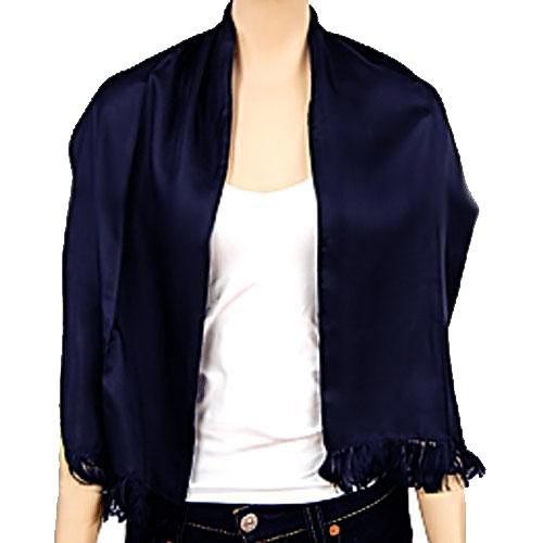 navy blue s silk formal evening scarf mens silk