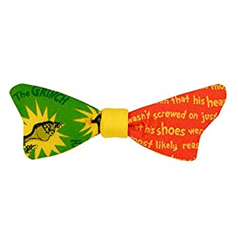 Grinch Bowtie Dr. Seuss How The Grinch Stole Christmas Bow Tie Elastic