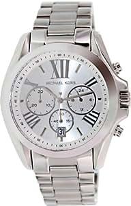 michael kors quartz silver dial men 39 s watch. Black Bedroom Furniture Sets. Home Design Ideas