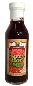 patter fam - Berry Hot Jelly 12 oz (One Bottle) from patter fam