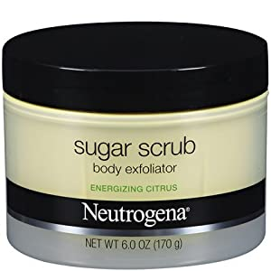 Neutrogena Energizing Sugar Scrub Body Exfoliator - Citrus (6 oz.)