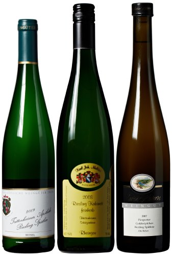 Excellent German Riesling Mixed Pack, 3 X 750 Ml