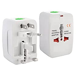 Universal All in One World Travel Power Adapter Surge Protector Charger Plug