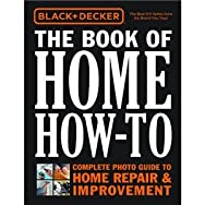 Home How-To DIY Reference Book-HOME HOW TO BOOK